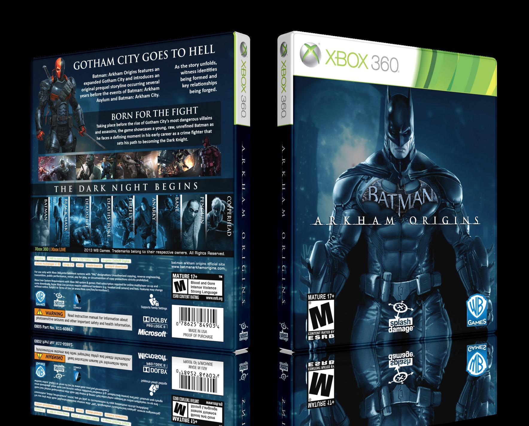 یه گاتهام و یه خفاش  نقد و بررسی Batman Arkham Origins   www.MihanGame.com
