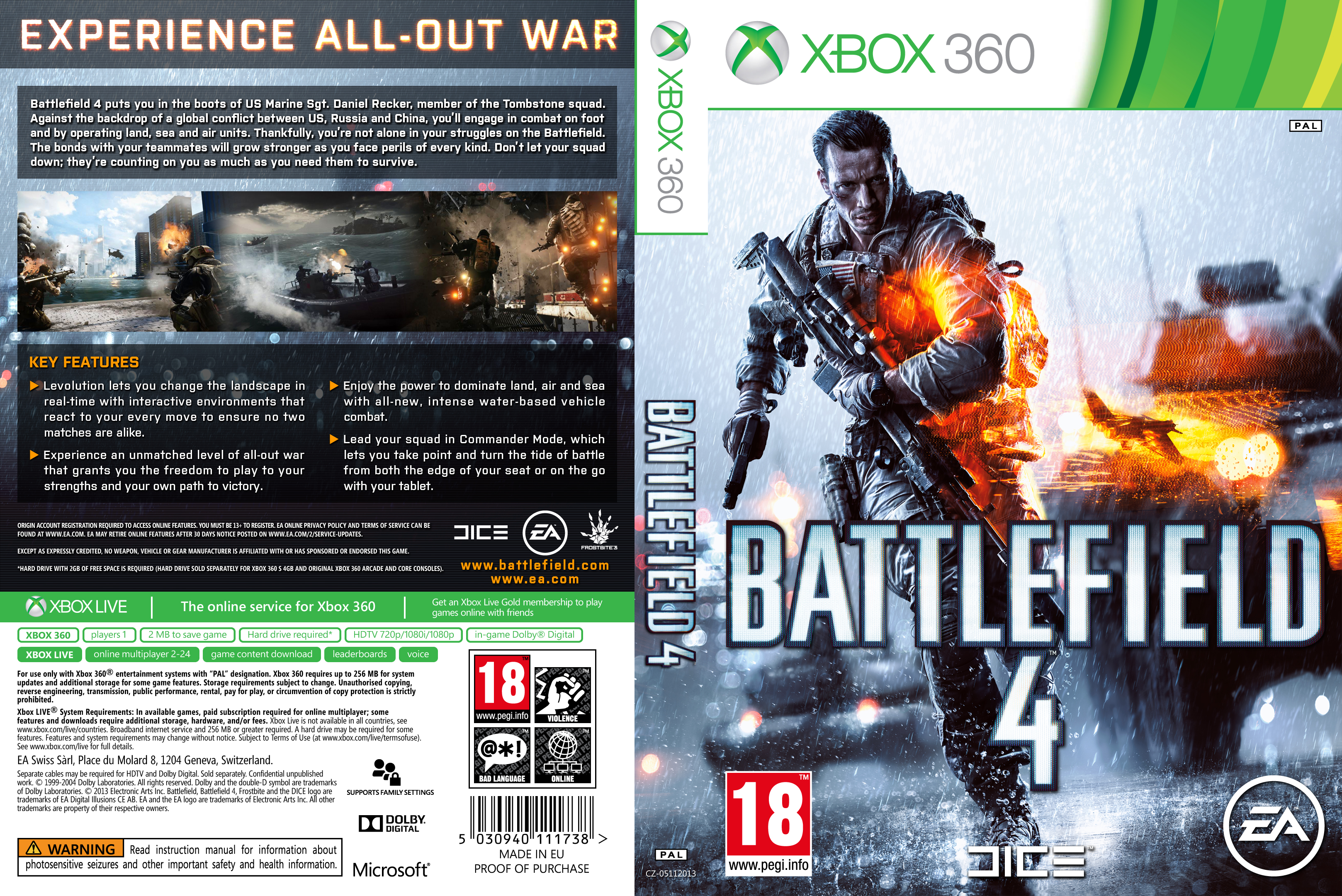 Covers Xbox 360 Caratulas images