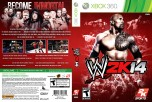 WWE 2K14 Xbox 360 Cover