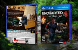 Uncharted 4: A Thief's End PS4 Box Art